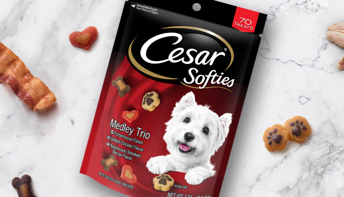 CESAR softies medley trio