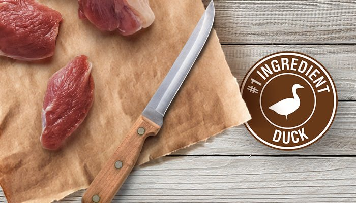 Duck breasts with #1 ingredient duck stamp