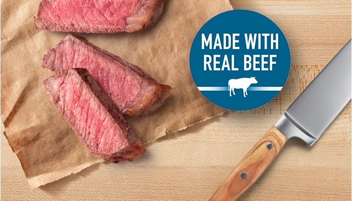 Made with Real Beef