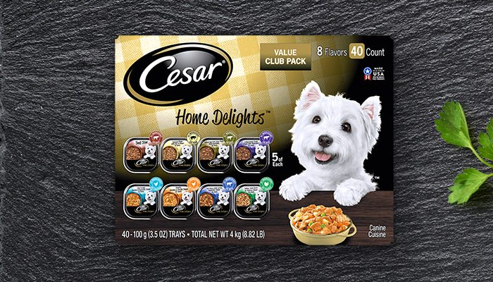 CESAR home delights 40 pack